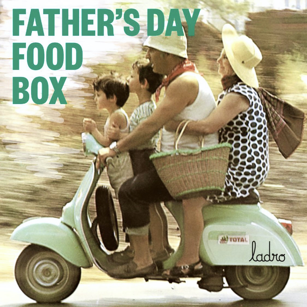 Ladro Father's Day Food Box